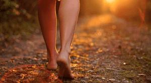 pés no chão